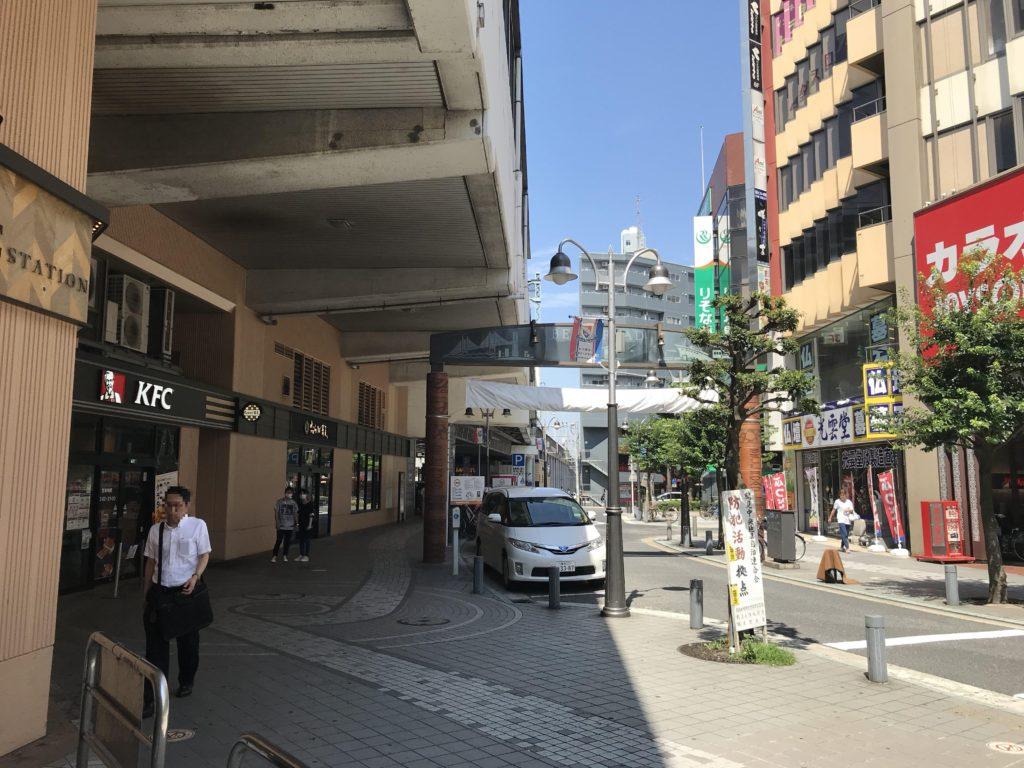 京浜急行線京急鶴見駅 東口側