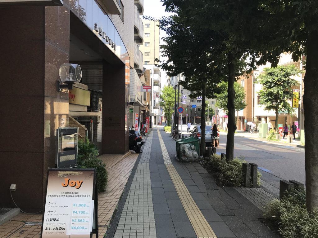 旧東海道沿い